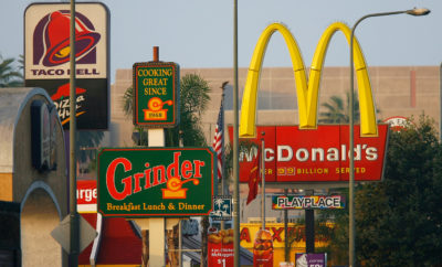 "An economist with the Rand Corporation argues that Los Angeles' fast-food ban failed because it merely blocked new construction or expansion of ""stand-alone fast-food"" restaurants in neighborhoods where that style of restaurant was uncommon to begin with."