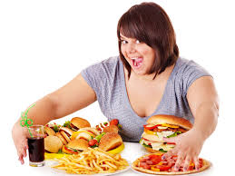 .weight gain unhealthy eating