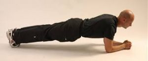 .circuit training Forearm plank