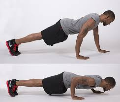 .circuit training Push-ups2
