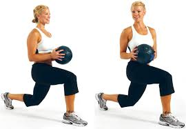 .circuit training Static Lunge with a Twist