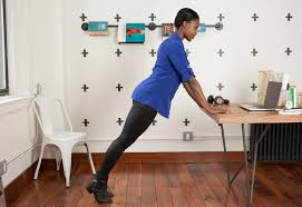 office-workouts-desk-push-ups